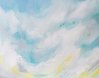 After the Storm, Fine Art Print of a Landscape Painting by Emily Jeffords