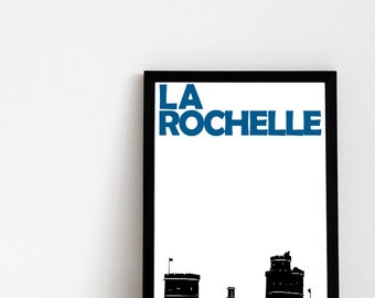 La Rochelle Print // Art Print France