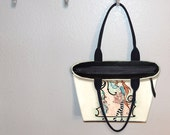 Add a zippered top to your tote bag or MINI tote bag