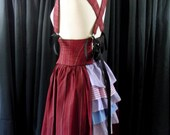 Custom Bustle, Side Panel and Belt Combo Corset Waist Cincher Harness Skirt Made to Order