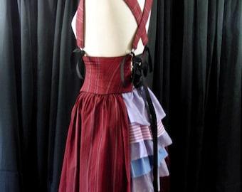 Custom Bustle, Side Panel and Belt Combo Corset Waist Cincher Harness Skirt Made to Order