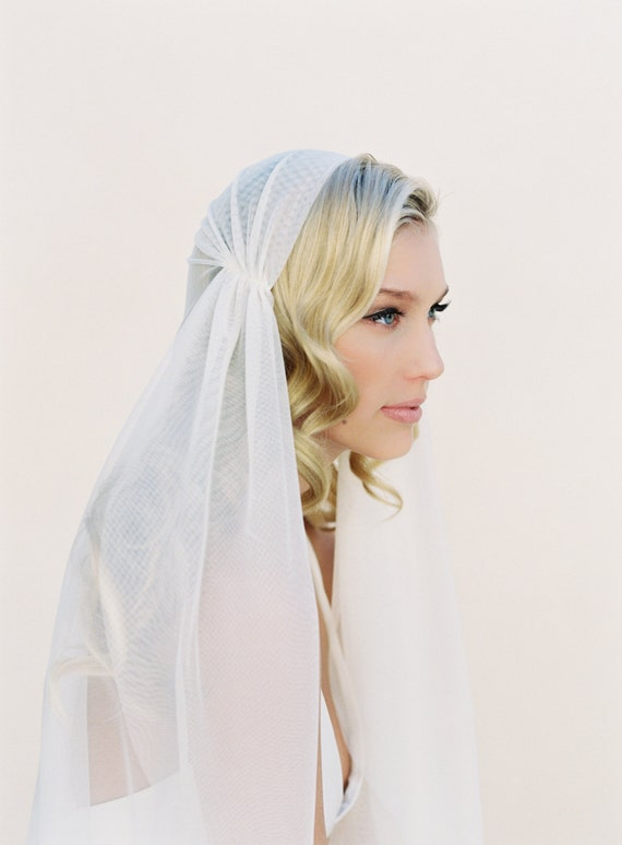Juliet Cap Veil, Wedding Veil, 1920s Vintage Veil, Kate Moss Veil, Bridal Veil, Cathedral Veil, Fingertip Veil, Bohemian Veil 1108
