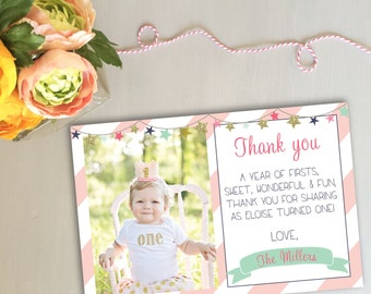 Printable Thank You Cards - Twinkle Twinkle Little Star
