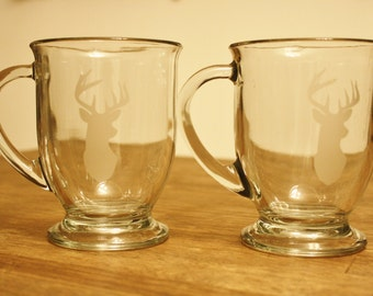 You're A Deer Glass Set - Set of 2
