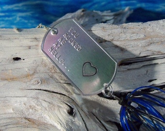 Gift for Fathers Day Romantic Gift for Him Gift for Her Girlfriend Gift Boyfriend Gift Mens Gift Personalized Womans Gift Wife Fishing Lure