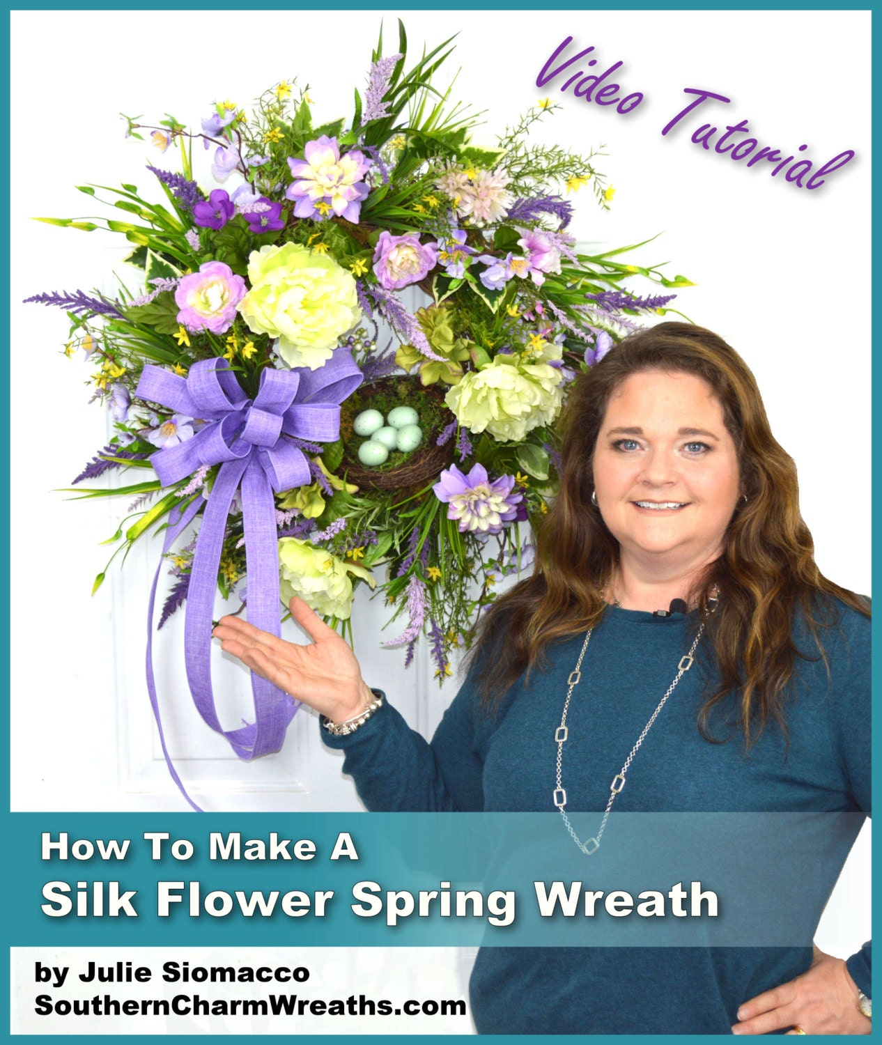 how to make spring wreaths video decorative spring wreaths