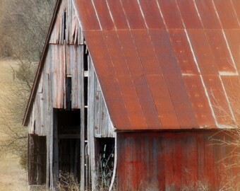 Old Barn - Rustic Barn - Rustic photo - Barn Photo - Rustic Decor - Fine Art Photography - Barn