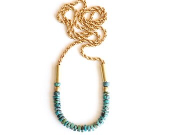 Turquoise Arra Necklace
