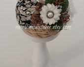 Floral Jersey Knit Headband