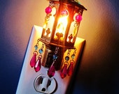 Mini Moroccan Lantern Night Light Golden Mirage MADE TO ORDER