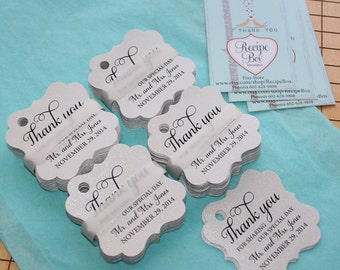 Thank You For Sharing Our Special Day, Rustic Wedding Favor Tag, Thank You Tags