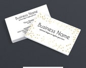 Business Card Designs - 2 Sided Printable Business Card Design - Audrey