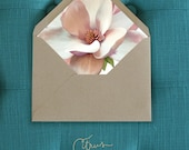 Magnolia Envelope Liners DIY Printable Wedding Invitations and cards