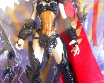 """Blood Queen 1995 Wet Works 6""""IN ACTION FIGURE made by McFarlane Toys from Comic Book in box never opened perfect for the comic con lover"""