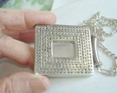 Signed  BAC 925 Sterling Made in Italy  Pendant