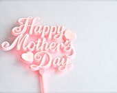 Mother's Day Cake Topper Pick