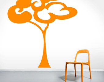 Fluffy Tree - Trees and Branches Wall Decals