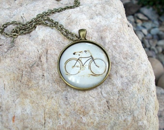 Bicycle Necklace Bicycle Pendant Bike Jewelry for Teens Tween Jewelry Teen Gift Idea Tween Gifts Bike Lovers Bronze Jewelry Bike Necklace