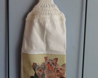 Yokie crocheted kitchen dish towel
