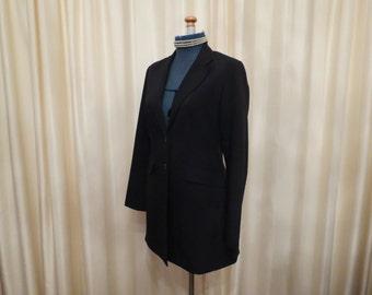 Vintage Black Ladies Jacket Blazer