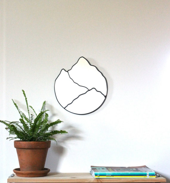 Mountain Mirror Handmade