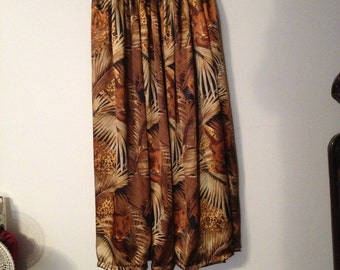 maxi skirt, plus size, jungle leopard, purchase any 2 items get Free  shipping