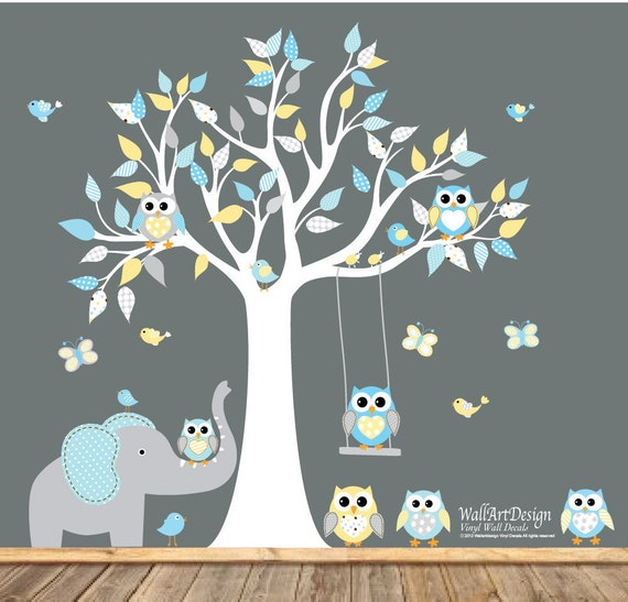 VACATION SALE-All orders ship Aug 15th!!Baby Nursery Wall Decal, Nursery Wall Decal, Baby Boy Wall Decal, Kids Wall Decal, Nursery Decal