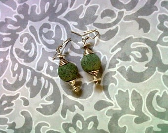 Sage Green Earrings (1988)
