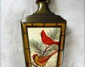 Vintage Jim Beam Decanter Collectible J Lockhart Cardinals 70's