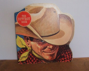 SALE! The Cowboy Book Golden Shape Book by Mel Crawford