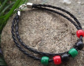 RBG Double strand Bracelet