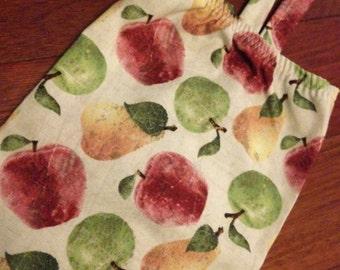 Plastic Bag Holder and Dispenser - Apples & Pears