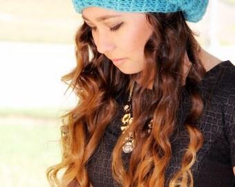 Adult Hat, Slouchy Hat,  Women's Slouchy Hat , Crochet Women's Slouchy Hat, Women's Fashion, Fall Accessory, Crochet Hat