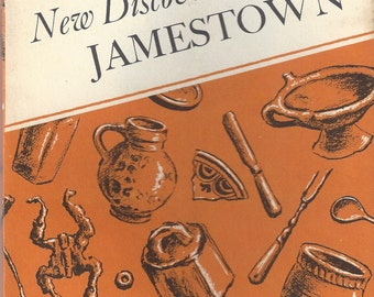 New Discoveries at Jamestown Vintage Booklet, 1962