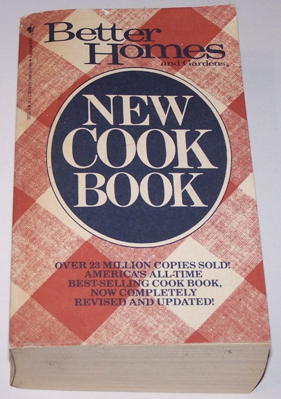 Better Homes And Gardens New Cook Book Paperback