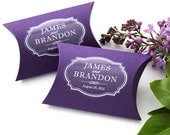 48 Custom Stickers - personalized wedding favor stickers, product packaging labels, clear / transparent or white waterproof label, any color