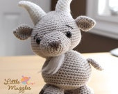 Amigurumi Crochet Pattern - Gordy the Goat