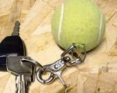 Lost & Find Tennis Ball Keychain - GREEN