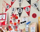Spy Party Printable Collection - INSTANT DOWNLOAD -