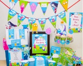 Adventure Time Birthday Party DIY Printable Kit - INSTANT DOWNLOAD - Adventure Time Party Inspired