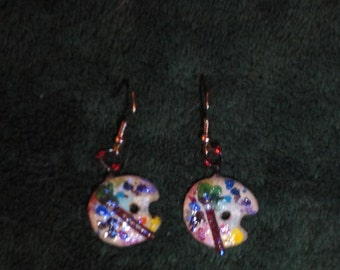 Artist's Palette Earrings