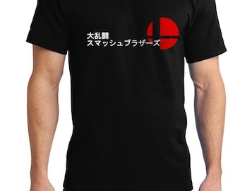 Super Smash Bros inspired Tshirt available for Men Ladies and Youth Size