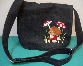 Hairy Hedgehog Messenger Bag