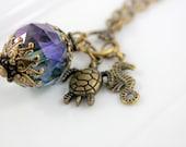 Ocean Secrets Charm Style Necklace