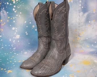 Snakeskin Cowboy Men's Size 8 D