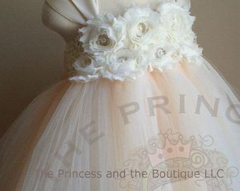 flower girl dress ivory, flower girl dress tulle, champagne flower girl dress, flower girl dress lace, flower girl dress tutu, custom dress