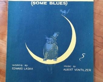 Vintage Sheet Music The Alcoholic Blues 1919