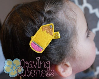 Pencil Hair Clip - Meet Miss Penzy