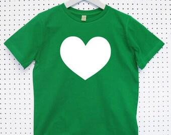 Heart Child's Organic Cotton T Shirt