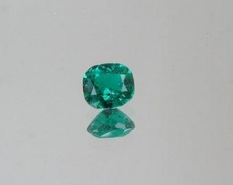 Emerald 1.62ct Cushion Shape Loose Gemstone for Fine Gemstone Jewelry Wedding Anniversary Ring